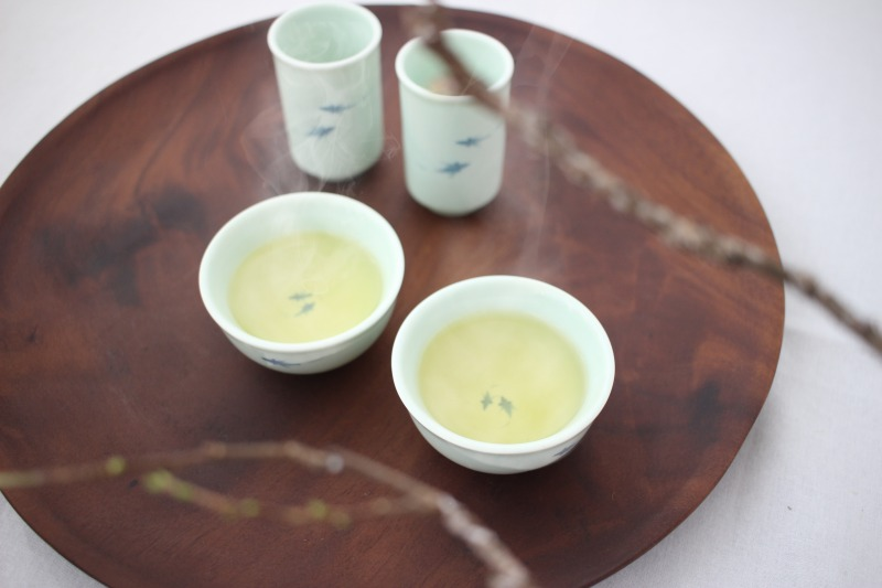 温かい台湾烏龍茶