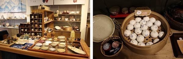 民藝埕の陶磁器屋